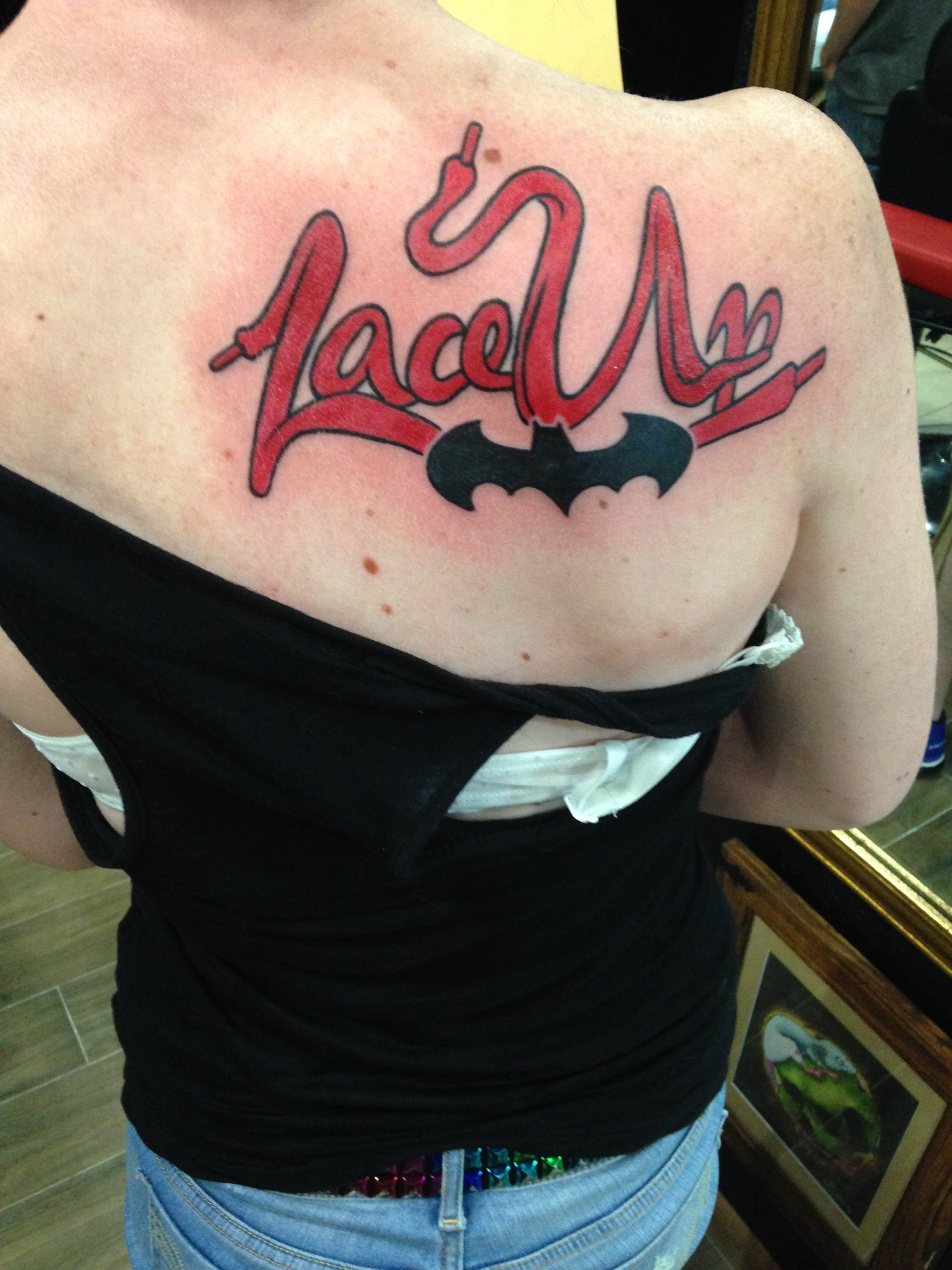 Lace Up Mgk Tattoo