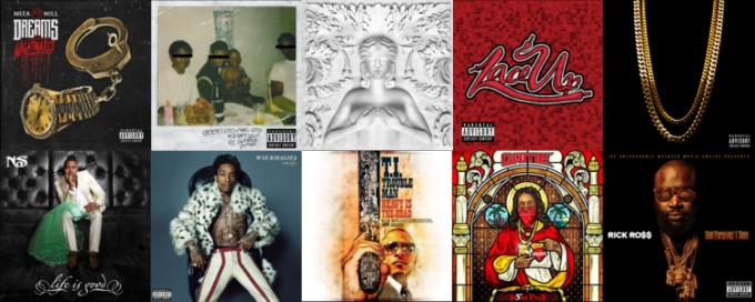 AlbumsOf2012