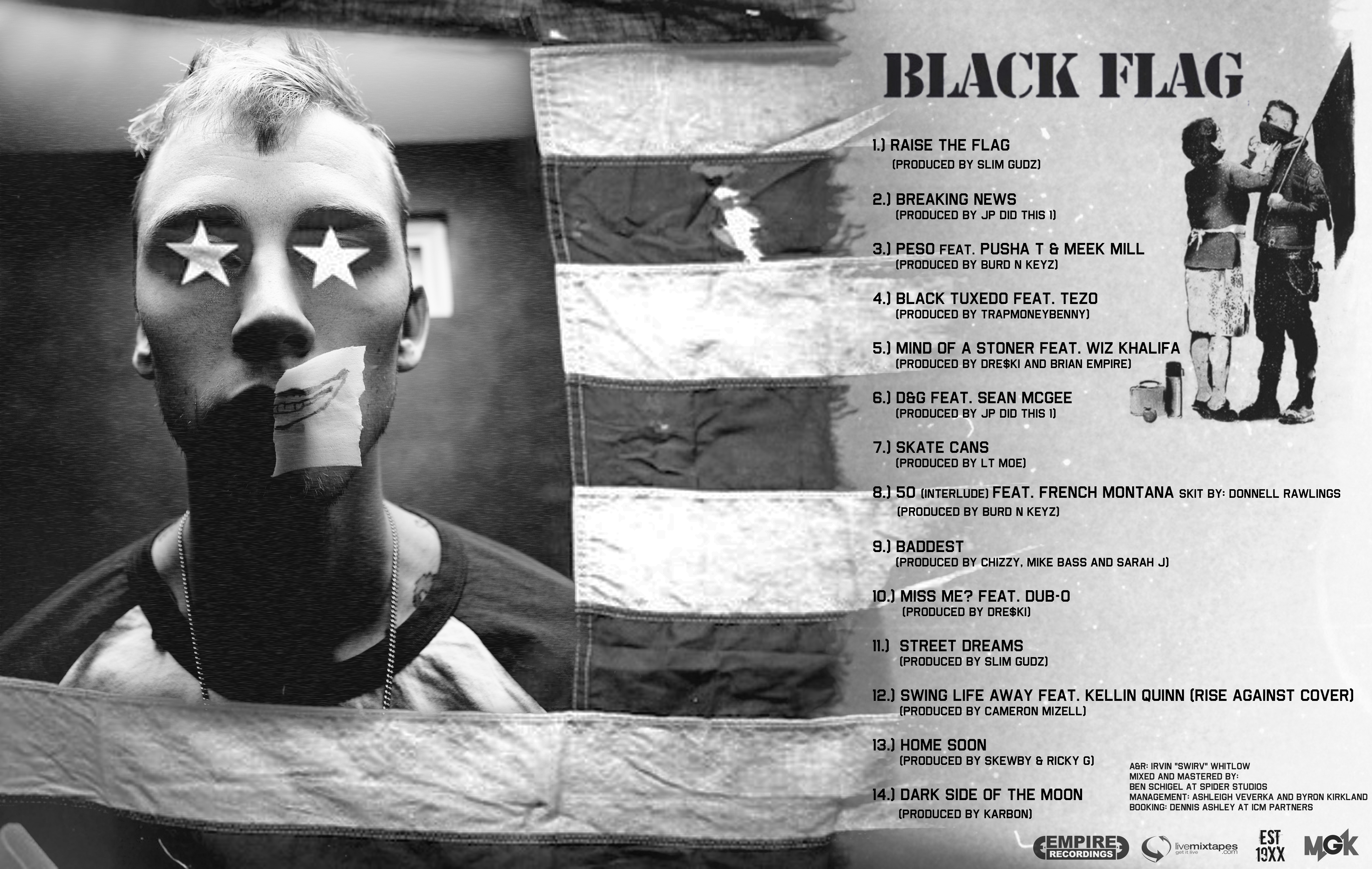 Mgk Black Flag Lyrics