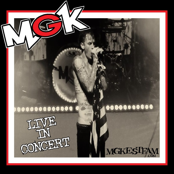 MGK -Live In Concert (Presented by MGKESTFAM) Front
