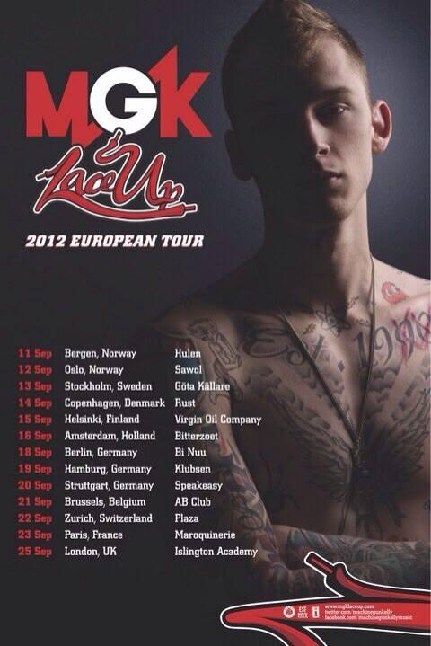 European Tour 2012s