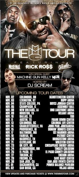 Mgk Tour Dates 2009 Present