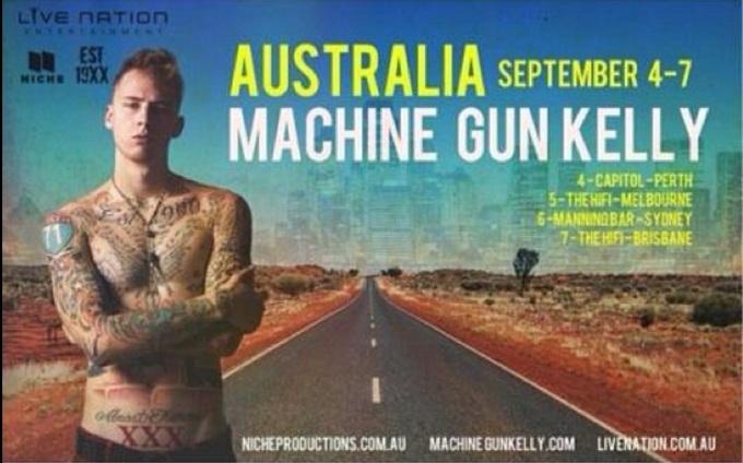 Australian Tour 2013